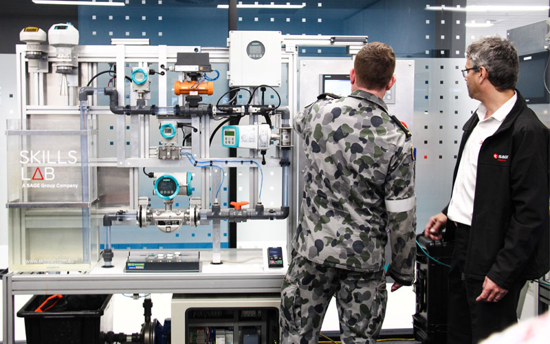 defence-personnel-test-out-Skills-Lab-test-rig