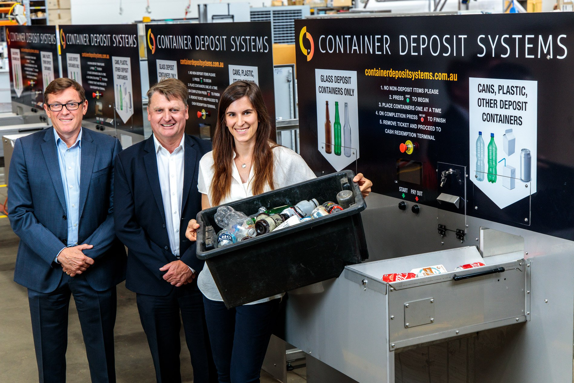 SA high-tech deposit machines fight war-on-waste