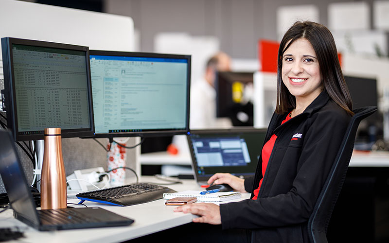 Celebrating International Women's Day with SAGE Systems Engineer Andrea Dimey