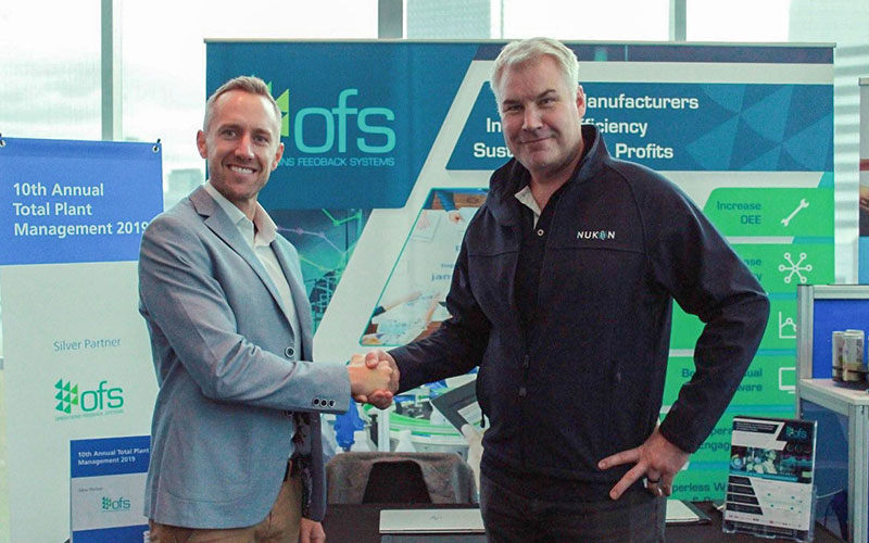 SAGE Group brand Nukon partners with OFS to offer Australian manufacturers seamless Industry 4.0 solutions