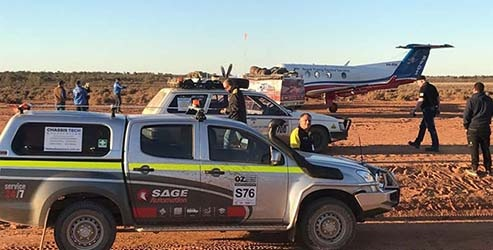 Sam Koulianostakes to Australia's outback for Royal Flying Doctors
