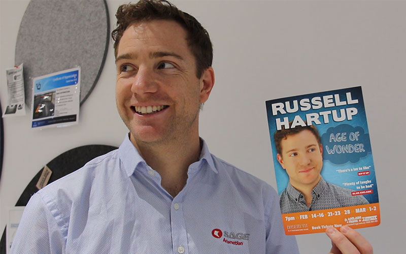 Employee spotlight:a chat with Russell Hartup